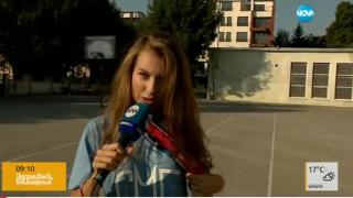Никол Станкулова направи гаф в ефир