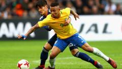 Бразилски национал: Габриел Жезус ми напомня на Феномена
