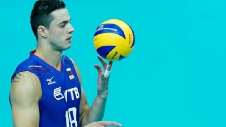 Скоро ще изтече 18-месечното наказание на руския волейболист Павел Мороз