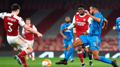 Арсенал загуби реванша с Олимпиакос, но продължава напред в Лига Европа