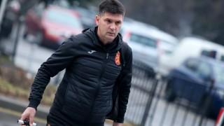 Ангел Стойков: Ще направим максималното за момчетата и отбора