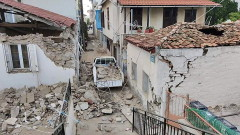 300 сгради на Самос са опасни за живеене след земетресението