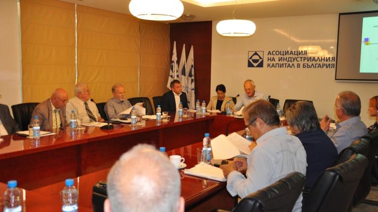 От Асоциация на индустриалния капитал в България (АИКБ) очакват през