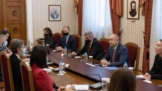 Радев обсъди с международни наблюдатели организацията на изборите