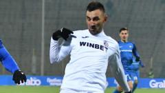 Габриел Обертан стресна Левски, французинът виси за мача с Берое