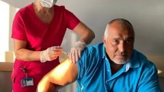 Борисов си постави втора доза Covid ваксина и призова: Ваксинирайте се