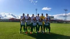 Равенство в първата проверка между Черна гора U16 и България U16