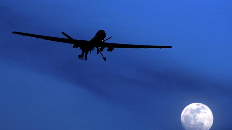 Джихадистки водач е убит при безпилотен въздушен удар в Сирия