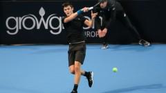 Приказката за Александър Лазаров на Sofia Open продължава
