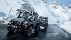 Land Rover от последния филм за Джеймс Бонд се продава