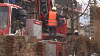 Евакуираха две семейства в Дряново заради свлачище
