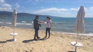 Ангелкова изненада Слънчев бряг с проверка на плажовете