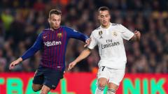 Барселона - Реал (Мадрид) 1:1 (Развой на срещата по минути)