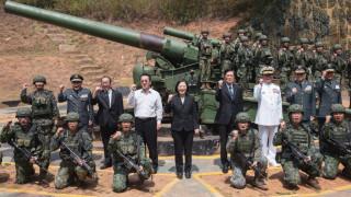 Тайван призовава пред западни дипломати за съюз на демокрациите срещу агресори
