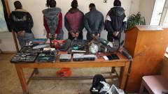 Спецакция срещу битовата престъпност блокира Бургас