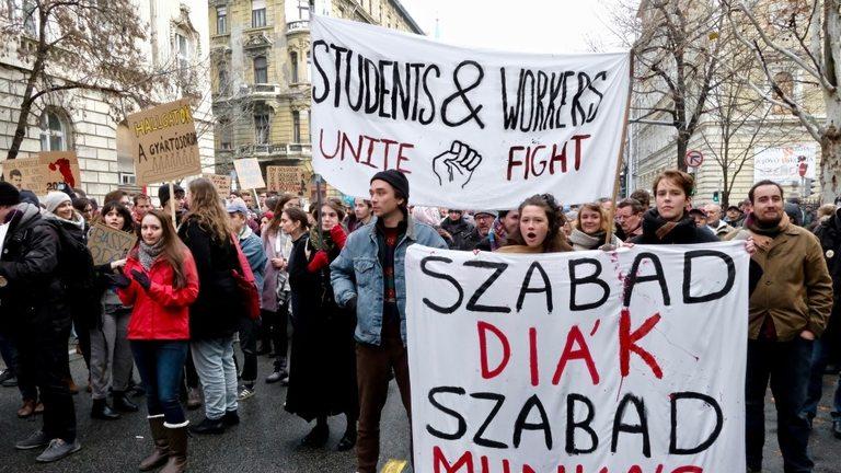 Унгарците са силно разгневени срещу управлението на Орбан