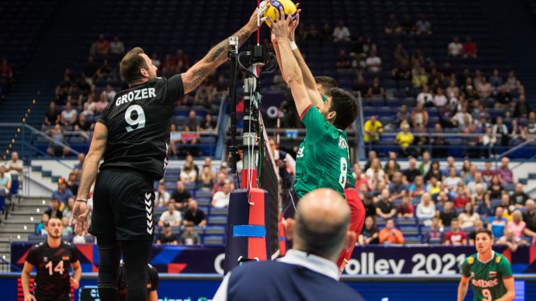 Германия отново победи България на голям форум във волейбола