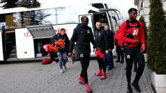 От ЦСКА засега оставят чуждестранните си футболисти на българска земя