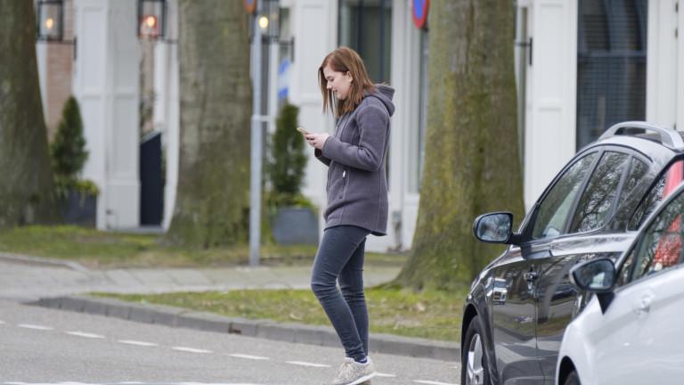 КАТ погва неправилно пресичащите пешеходци