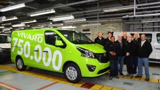 750-хилядният лекотоварен хит Opel Vivaro слезе от поточната линия