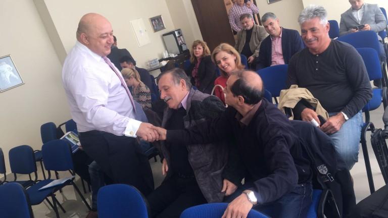Снимка: Министър Кралев проведе дискусия с представители на спортната общественост във Варна