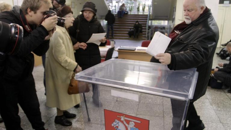 Управляващите в Литва загубиха парламентарните избори