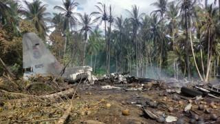 Откриха черната кутия на разбилия се военен самолет на Филипините