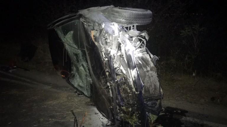 Жена пострада при катастрофа на пътя Казанлък- Павел баня