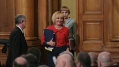 Манолова иска от НС пожизнена премия за медалистите ни