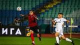 Локомотив (София) - Славия: 1:0, (Развой на срещата по минути)