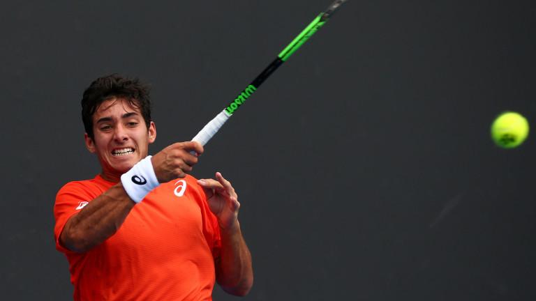 Кристиан Гарин е водач на схемата на ATP 250 в Бощад