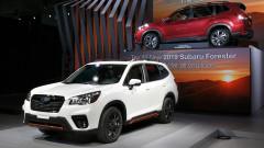 Subaru показа новия Forester на автосалона в Ню Йорк
