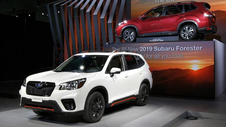 Японската автомобилна марка Subaru представи новото поколение на кросоувъра Forester.