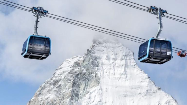 Цермат е един от най-попурарните ски курорти, разположен в сянката