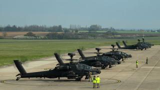 """Великобритания изпратила хеликоптери """"Апачи"""" в Естония за възпиране на Русия"""