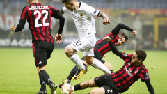 """""""Сан Сиро"""" изпрати с освирквания Милан! """"Росонерите"""" се занулиха срещу АЕК!"""