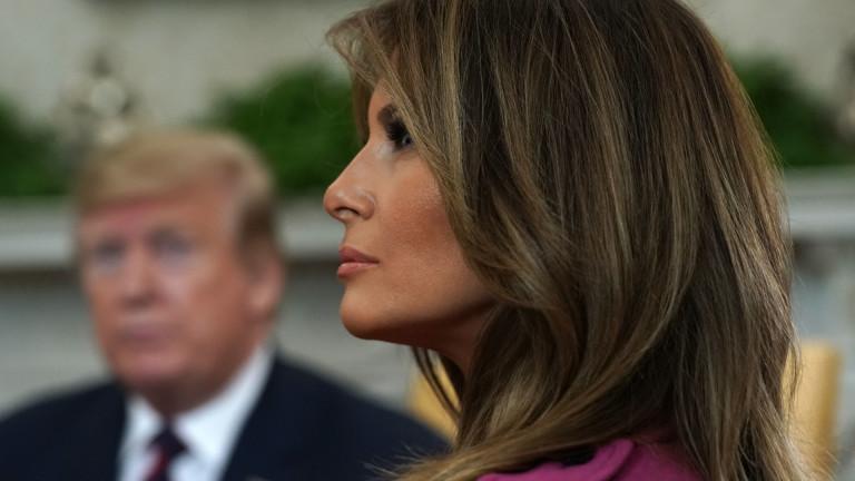 Мелания Тръмп е свикнала да бъде в ролята на критикуваната