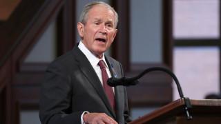 Буш: Изтеглянето на САЩ от Афганистан е грешка, ще бъдат изклани цивилни