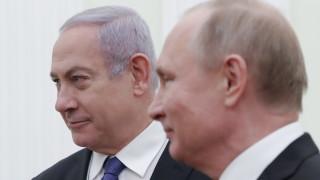 Путин звънна на Нетаняху за рождения му ден, обсъдиха Сирия