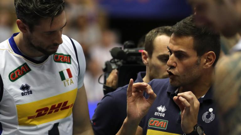 Джанлоренцо Бленджини остана доволен от представянето на своите волейболисти, които