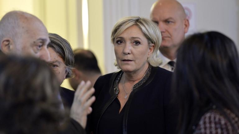 Марин льо Пен бележи ръст в подкрепата в президентската надпревара