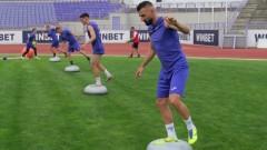 Етър поднови тренировки без трима футболисти