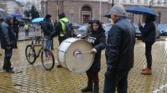 """Протестиращи блокираха движението по бул. """"Дондуков"""""""