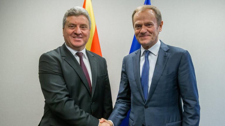 Македония бърза към НАТО и ЕС
