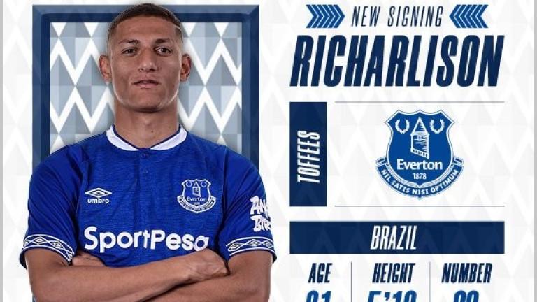 Факт: Ричарлисон е футболист на Евертън
