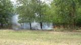 Пресякоха пътя на пожара към три новозагорски села