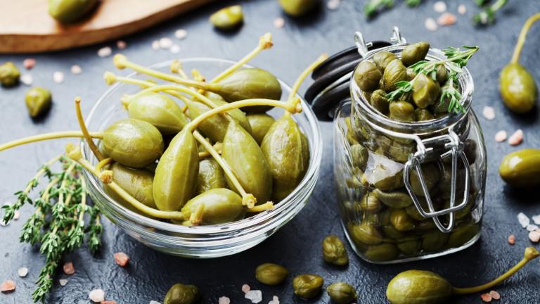 Каперсите – силни антиоксиданти с неповторим вкус