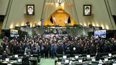 """Мощно """"Смърт за Америка"""" от депутатите в парламента на Иран"""