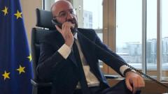 Видеоконференция на евролидерите във вторник