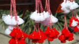 В Айтос разпъват 7-километрова мартеница